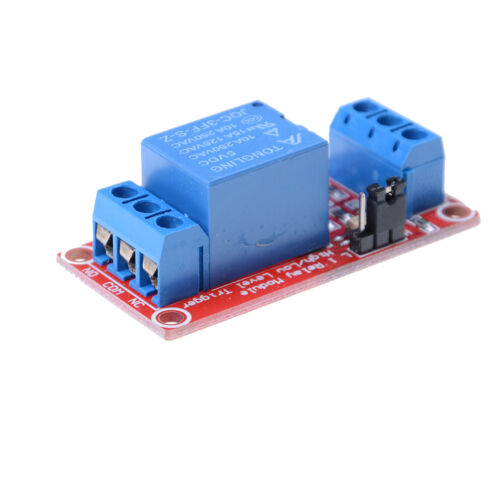 5V 1 Channel Relay Board Module With Optocoupler LED for Arduino PiC ARM AVRyu