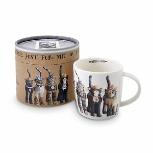 Cat Mug The Royal Furmily Pawtraits Group Bone China Mug