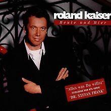 Heute-Und-Hier-New-Version-von-Kaiser-Roland-CD-Zustand-gut