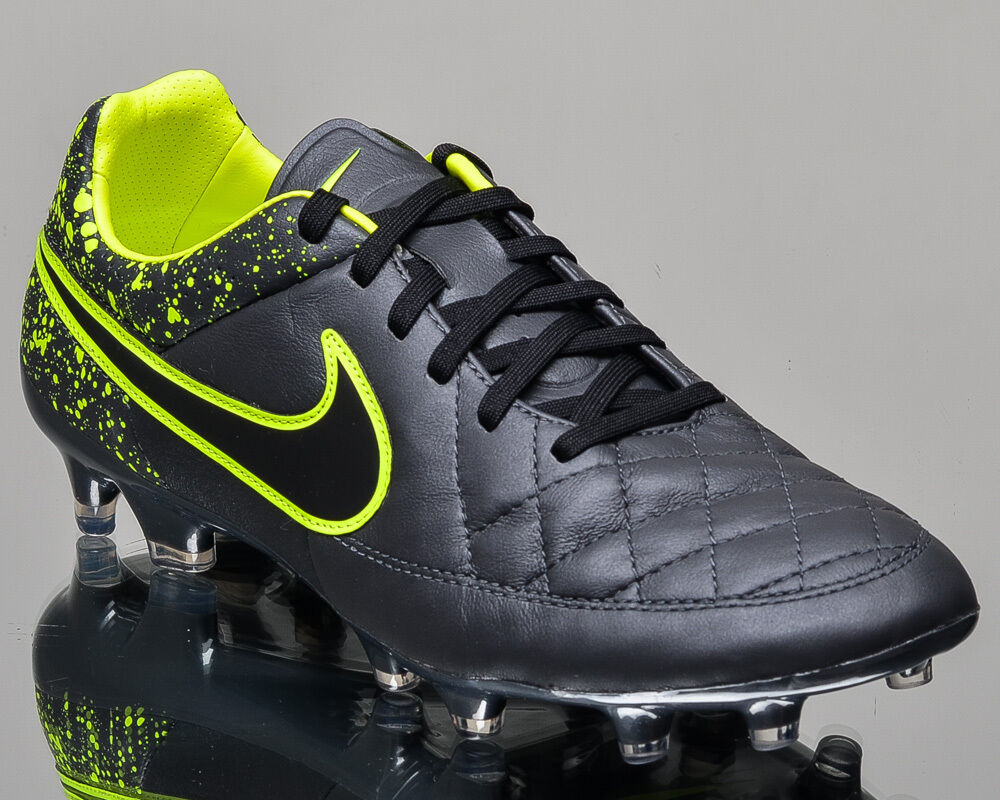 Nike Tiempo Legacy FG men soccer cleats football NEW 631521-007 last size 7 US