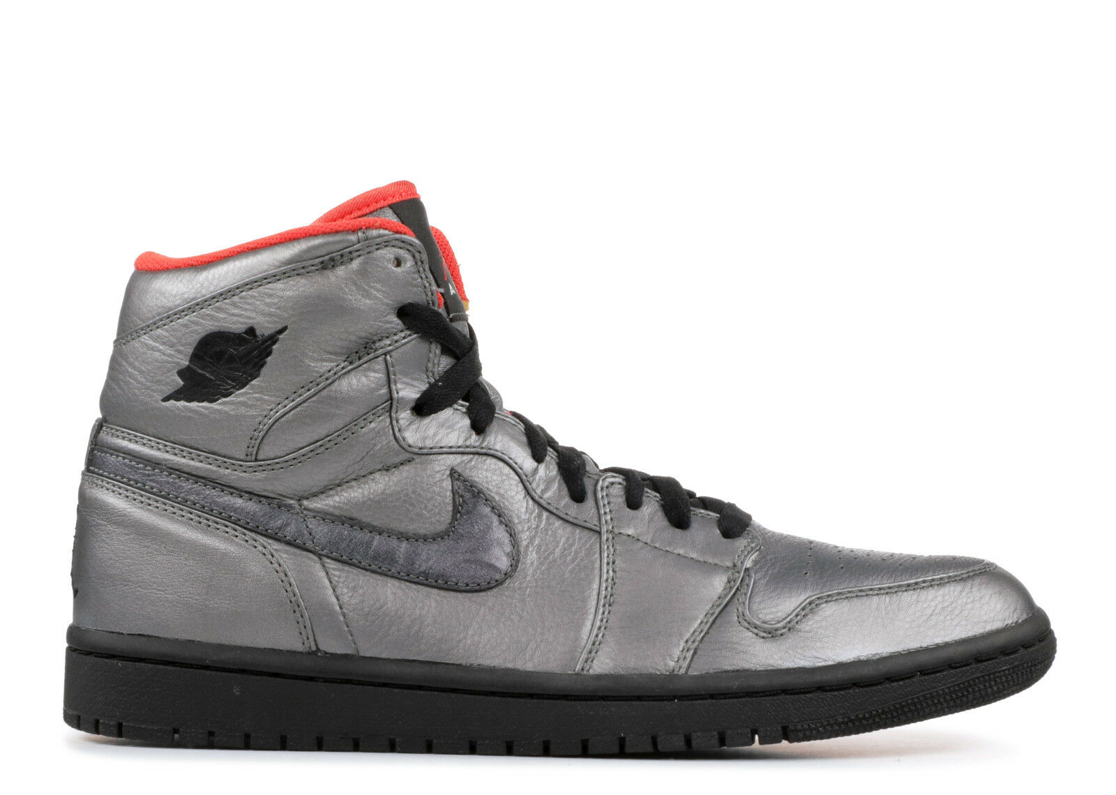 2008 NIKE AIR JORDAN 1 RETRO HI PREMIER PEWTER SZ 12.5 332134-001BANNED