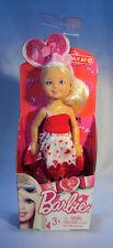 Mattel Target Exclusive Barbie Friends  Chelsea Kelly 2011 Valentine NOC