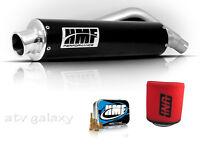 Hmf Performance Black Full Exhaust + Jet Kit + Uni Filter Honda Trx300ex 300ex