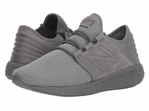 a72f0a63b11f New Balance Fresh Foam Cruz v2 Nubuck MCRUZNG2 Gray Men s Running ...