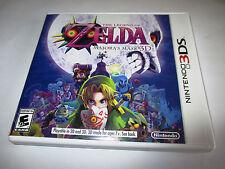 The Legend of Zelda Majora's Mask 3D (Nintendo 3DS) XL 2DS Game w/Case & Insert