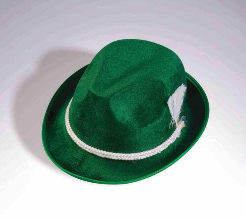 Oktoberfest Hat Adult Size Traditional Green German Headwear