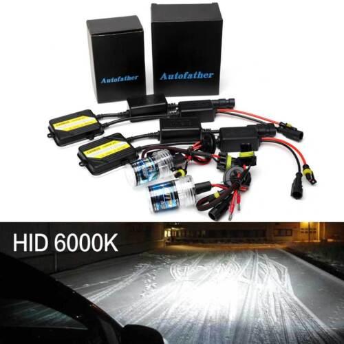 55W HID Xenon Kit 9005 9006 Lights Hi Low Beam For Jeep Grand Cherokee 1999-2004