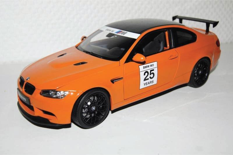 KYOSHO 1 18 BMW M3 GTS M POWER arancia - 8739PM