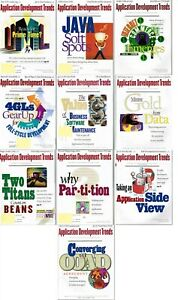 Lot-of-10-Application-Development-Trends-1997-Back-Issue-COMPUTER-Magazines