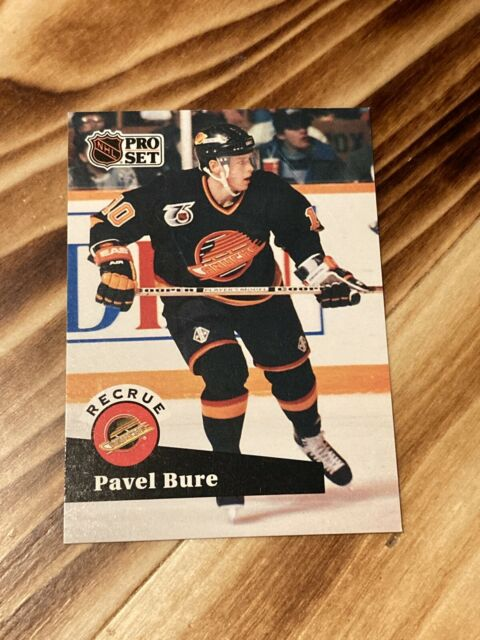 PAVEL BURE Rookie Card - 1991-92 Pro Set #564 - VANCOUVER CANUCKS RC French
