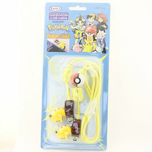 CABLE-LINK-KEMCO-Edition-POKEMON-PIKACHU-GBC-Gameboy-Color-NEUF-NEW