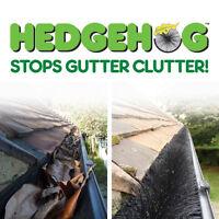 Easy Innovations Hedgehog Gutter Leaf Guard Brush 100mm X4m Black Also Grates