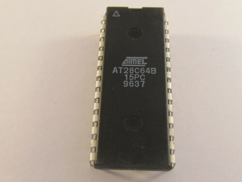 8Kx8 AT28C64B15PC Atmel 64K Parallel EEPROM