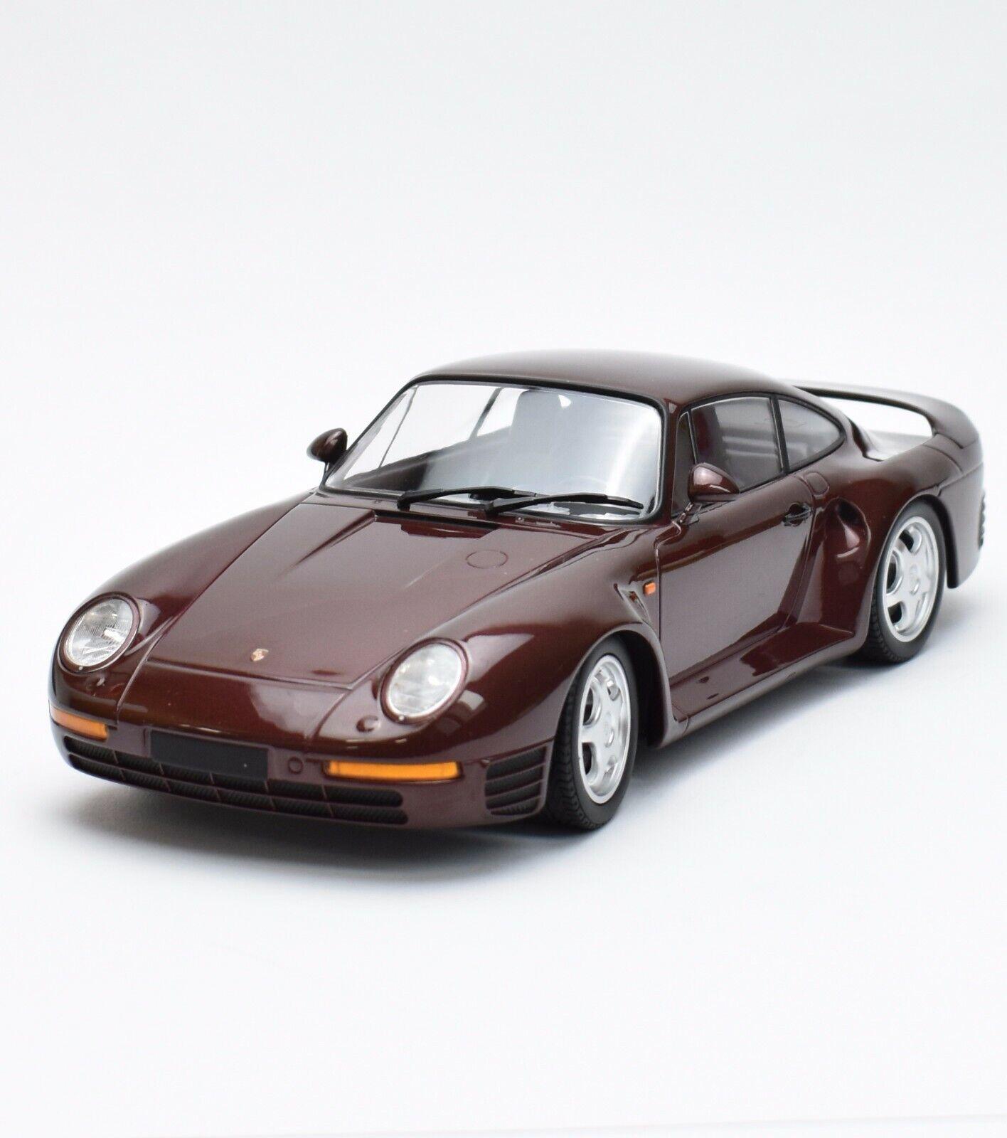 Minichamps limitado Porsche 959 (911) Deportivo año de fabricación 1987, 1 18, embalaje original, b316