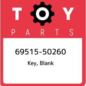69515-50260-Toyota-Key-blank-6951550260-New-Genuine-OEM-Part