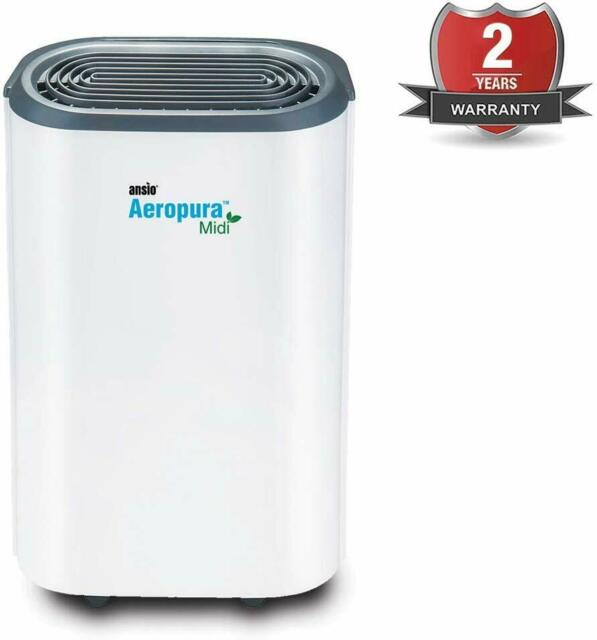 ANSIO Electric Dehumidifier 22 Litre Day Continuous Drainage 2 yr