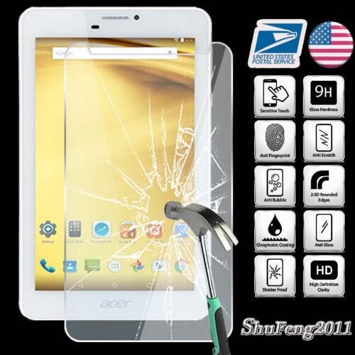 Tempered Glass Screen Protector For Acer Iconia Talk 7 Tablet