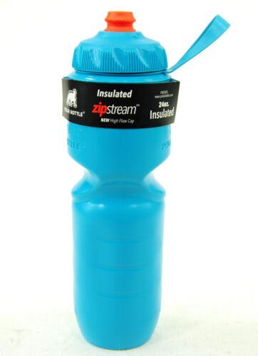 environ 680.38 g 2017 Polar ZipStream 24 oz Isotherme Vélo//Cyclisme Sport bouteille d/'eau Aqua Blue