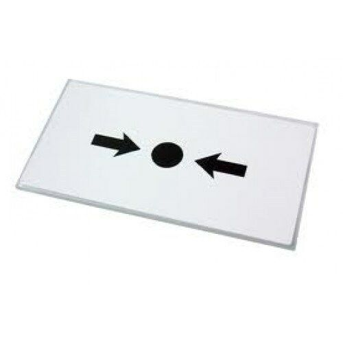 FREE P/&P 10X KAC Fire Alarm Call Point Break Glass Replacement Glass Pack KG1