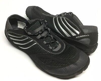 check out ba002 54d6e Women's Merrell Pace Glove Minimalist Barefoot Running Shoes Sz 11 Black  J35706 | eBay