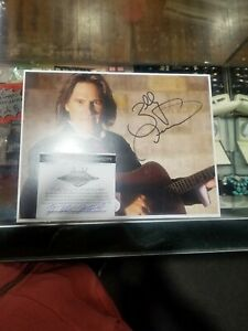 Billy Dean Autographed Photo Comes With Coa