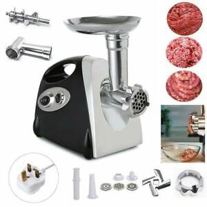 2800W-Electric-Meat-Grinder-Mincer-Aluminum-Sausage-Maker-Filler-Kitchen-UK-Plug