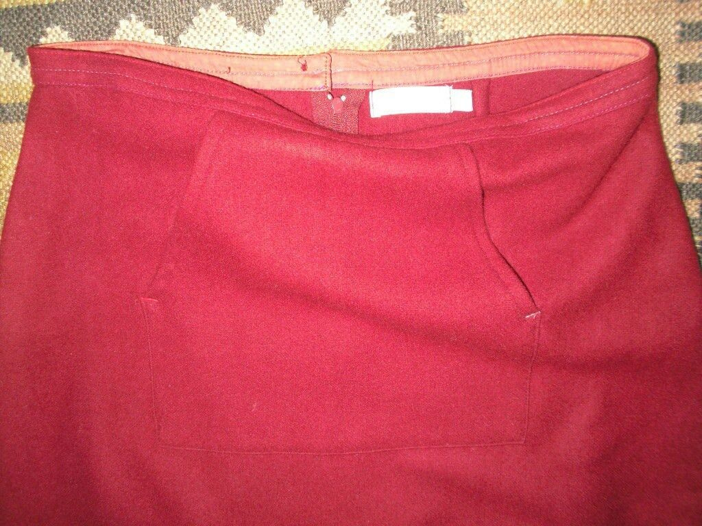 SOLOLA SKIRT, SIZE 3, WORN ONCE ONLY, LONG LENGTH, WOOL MIX, LAGENLOOK STYLING