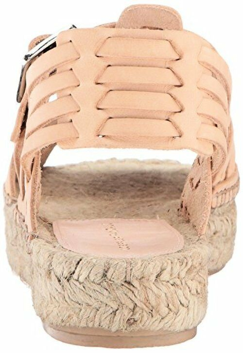 608ba67960d Loeffler Randall Women's Reid Woven (leather) Espadrille Wedge Sandal  Silver 7.0 7 B US