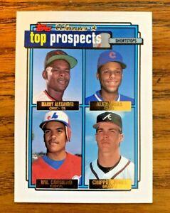 1992-Topps-Gold-Winner-Top-Prospects-551-Chipper-Jones-RC-Braves