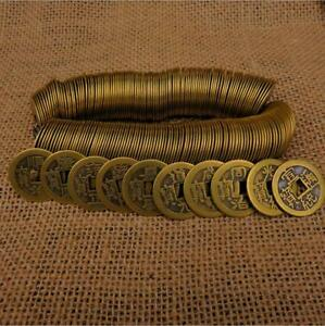 Collect-50pcs-Chinese-Copper-Coin-Qing-Dynasty-Antique-Currency-Cash
