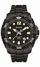 Bulova Men's 98B242 Sea King UHF Quartz Black Rotating Bezel Dive Watch