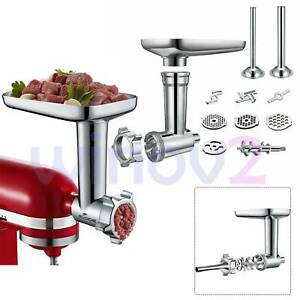 1PC-NEW-Aluminum-alloy-Food-Meat-Grinder-Attachment-for-Kitchenaid-stand-mixer