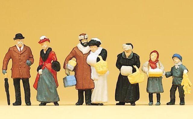 Figure Preiser H0 (12195): Auf D.Mercatino di Natale Del 1900