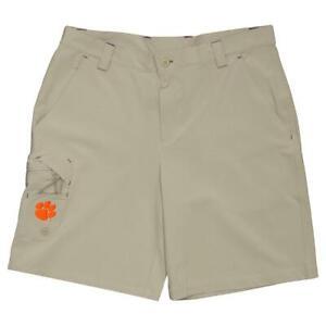 Columbia Men's Clemson Tigers CLG Terminal Tackle Short (Retail $65) (015)
