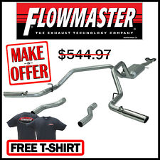 """Flowmaster 17470 1996-1999 Chevy GMC C/K 1500 2.5"""" Cat-Back Dual Exhaust System"""