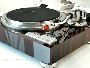 JVC-QL-Y55F-High-End-Turntable-Plattenspieler-Ortofon-Q-Red-MC-new-Serviced