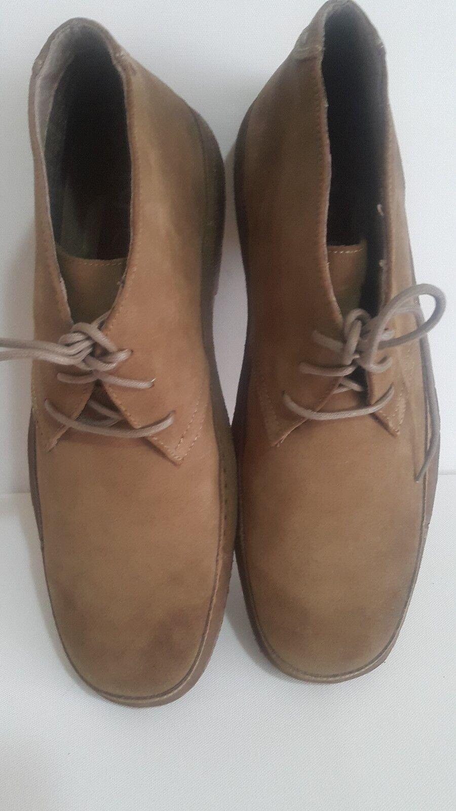 R. J Colt Men's shoes Oscar Laceup Desert Boot Camel size 13M
