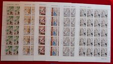 China 2011-5 Famous Scholar Story Idoms Stamp full sheet儒林外史