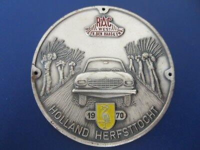 VINTAGE regionale automobiel club zuid car club grille badge emblem dutch sale