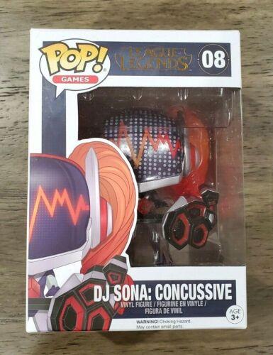 Funko Pop Vinyl Figure League of Legends DJ Sona Concussive In Hand FREE SHIP