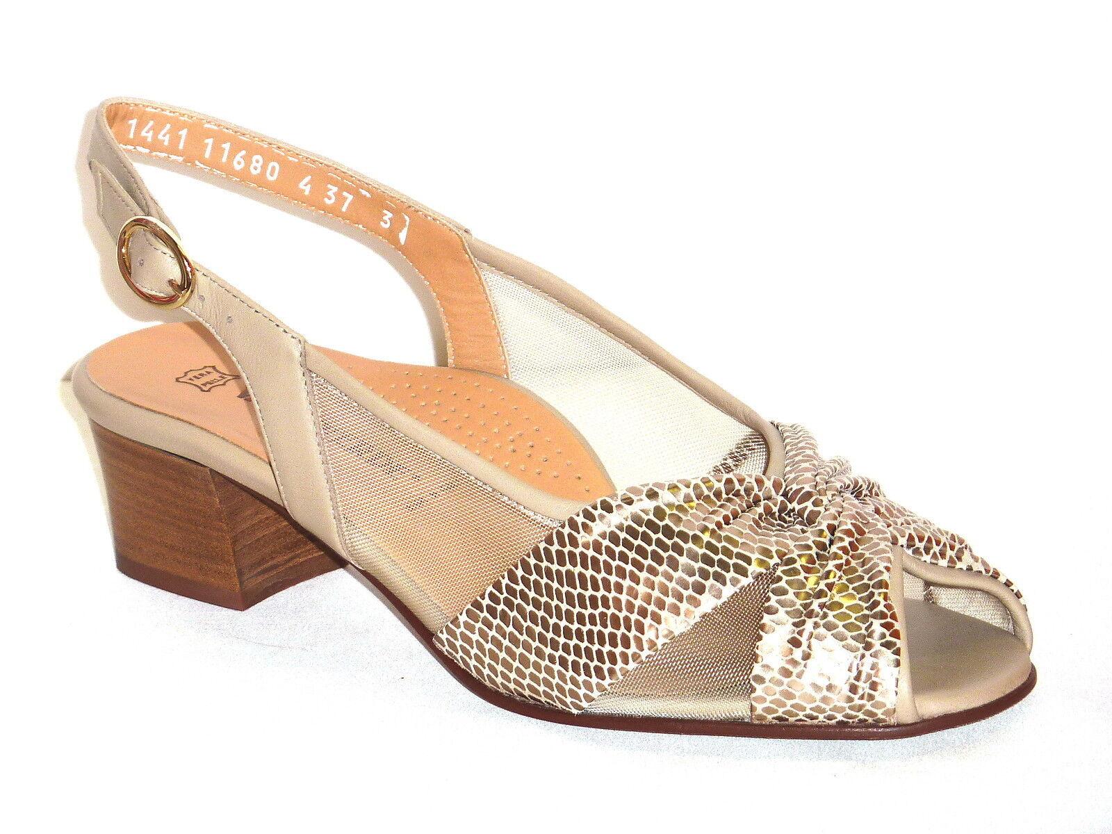 SEXY sandali STRASS plateau tacco 12 n. GLAMOUR 35 CHAMPAGNE scarpe Sposa GLAMOUR n. chic 7a9122