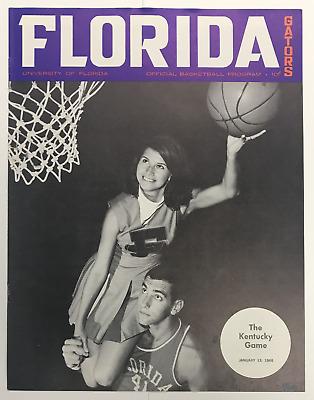 1967/68 UNIVERSITY OF FLORIDA GATORS VS KENTUCKY WILDCATS ...