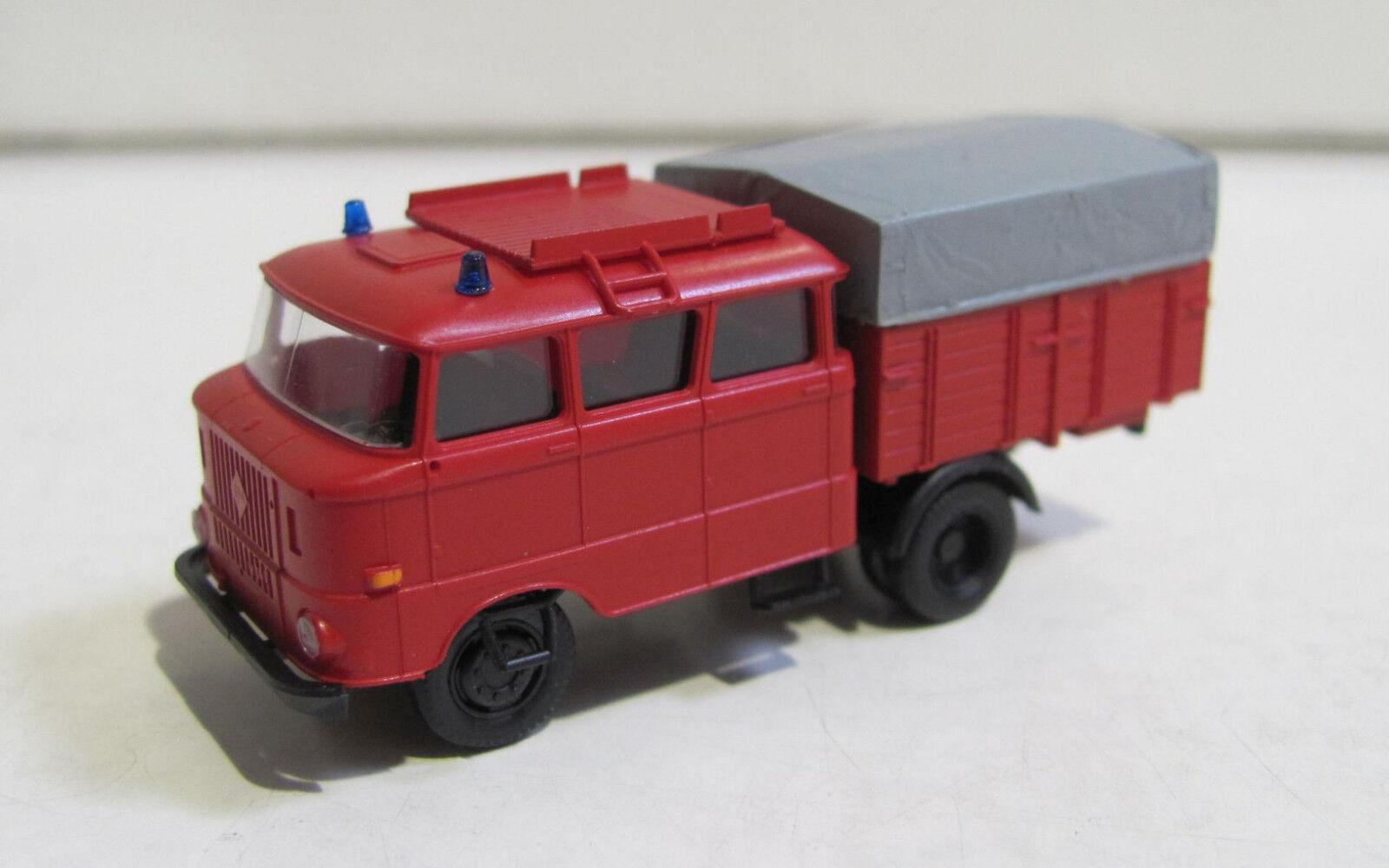 Hädl TT 127017 IFA W50L Feuerwehr Feuerwehr Feuerwehr Bautruppwagen NEU mit OVP 9e9a7e