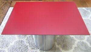 HPL-Platte  Tischplatte 8 mm Wine Red 810 x 508 mm Findeis Xterior 0605X RAL3005
