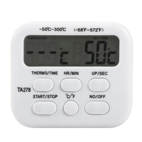 Digitales Kochthermometer für Home Kitchen BBQ Grill Ofen 50/'C ~ 300/'C