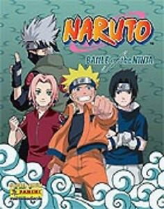 10-Sticker-Naruto-Battle-zum-Aussuchen-von-Panini