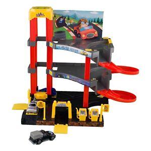 Parkgarage Spielzeug Kinder Autogarage Parkhaus Garage incl.Spielzeug<wbr/>autos SET