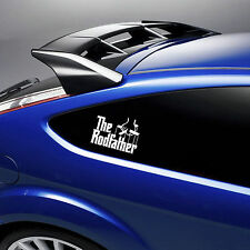 THE ROD FATHER car/laptop stickers/fishing box decals window SURF VAN VINYL