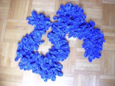 100% QualitäT Schal, Mittelblau