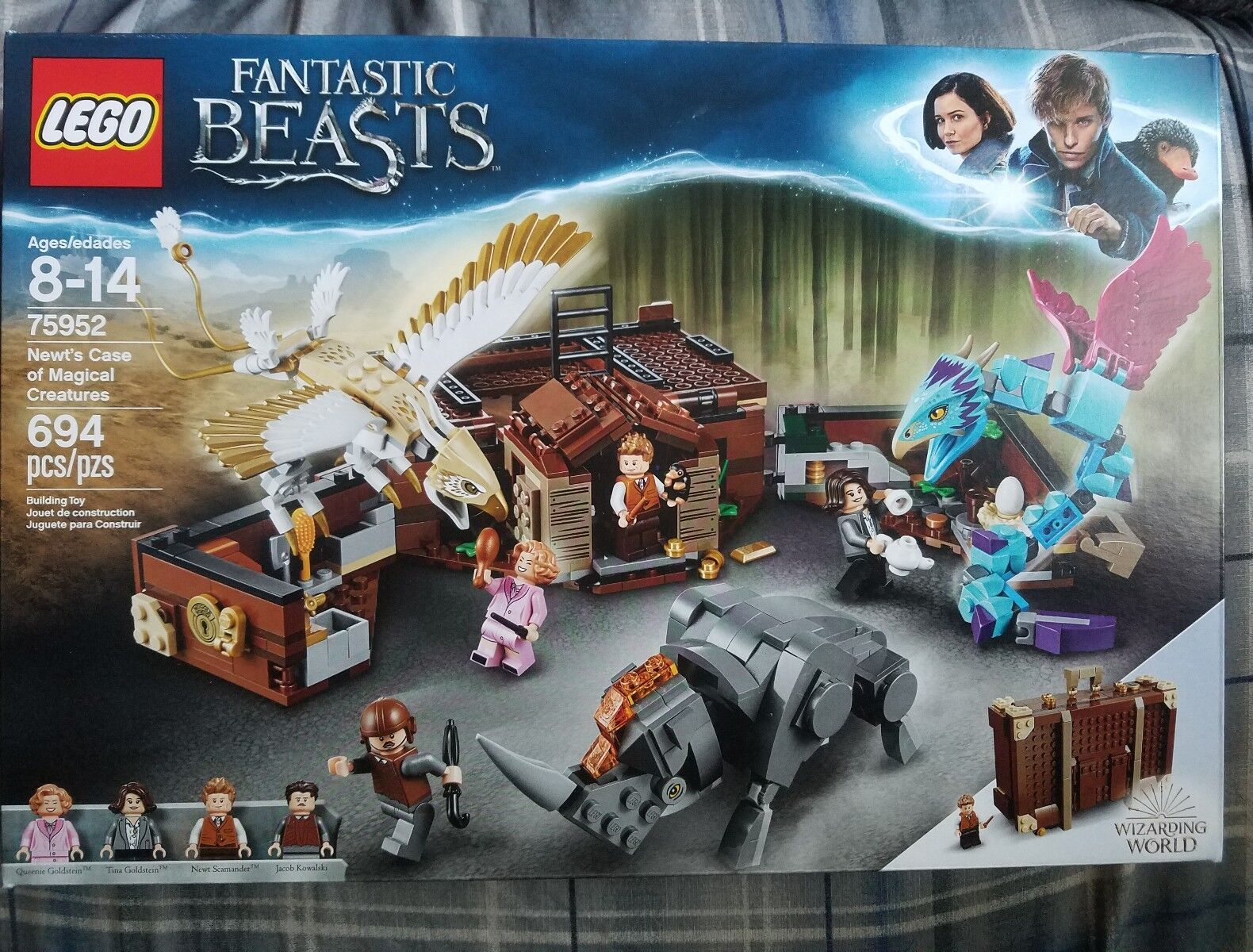 LEGO Newt´s Case of Magical Creatures Fantastic Beasts 75952 Wizarding World NEW